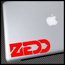 Zedd Logo Edm Vinyl Decal Sticker Vinyl Decals Vinyl Decal Stickers Vinyl