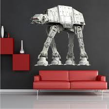 Imperial Walker Star Wars At At Wall Mural Decal Walker Decals Primedecals