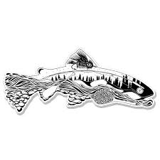 Nate Karnes The Remedy Elements Of Fly Fishing Decal Fly Slaps Fly Fishing Stickers And Decals