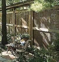 Latticework Privacy Screens Better Homes Gardens