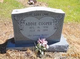 COOPER, ADDIE - Lafayette County, Arkansas | ADDIE COOPER - Arkansas  Gravestone Photos