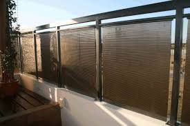 Balcony Fence Ideas Privacy Balustrade Screen Canvas Home Elements And Style Apartment Solutions Ikea Panels Bamboo Scree Crismatec Com