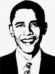 Barack Obama Diminished Reality Illustrationtwoonarow Jpg Black And White Portraits Obama Pencil Drawing High Contrast Images
