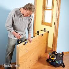 how to hang a new door