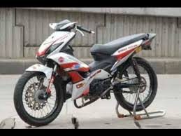 video modifikasi motor honda blade