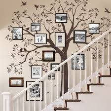 Staircase Family Tree Wall Decal Tree Wall Decal Sticker Etsy