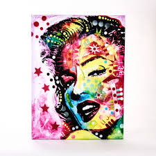 marilyn monroe canvas print harry
