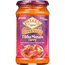 2 Pack) Patak's Tastes Of India Simmer Sauce, Tikka Masala Curry, 15-Ounce  - Walmart.com - Walmart.com