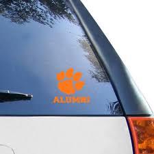 Clemson University Car Decals Decal Sets Clemson Tigers Car Decal Shop Clemsontigers Com