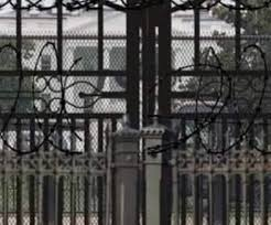 Was Razor Wire Placed Around The White House