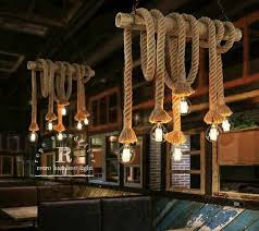 lighting rope pendant fixture