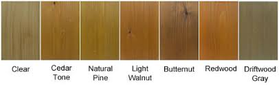Deck Stain Samples For Exterior Wood The Sealer Store