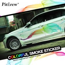 Car Stickers Beautiful Rainbow Lines Car Styling Decals Decorative For Whole Body Tuning Styling Waterproof Exterior Accessories Car Sticker Car Stylingdecals For Cars Aliexpress
