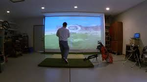 build a golf simulator in your garage