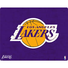 Los Angeles Lakers Purple Primary Logo Xbox One X Controller Skin Nba