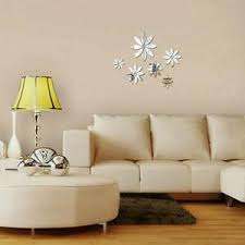 Women Home Art Decor Mirror Wall Stickers Acrylic Bedroom Wall Decals Sticker Sl Ebay