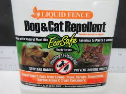 Liquid Fence Dog Cat Repellant Eco Safe Keep Cats Out Of Flowerbeds