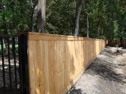 Commercial Wood Fence Houston Tx Texas Fence
