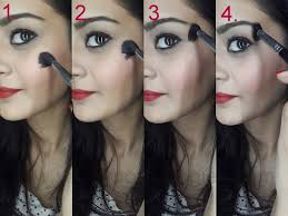tutorial how to highlight face steps