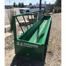 S I Feeders 20 One Sided Feed Bunk Western Ranch Supply