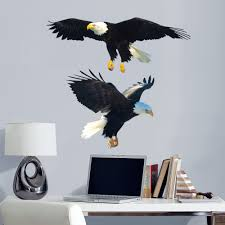 Fathead Bald Eagle Life Size Animal Removable Wall Decal Walmart Com Walmart Com