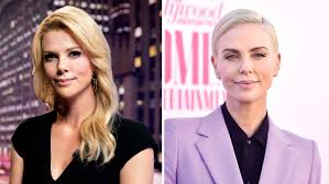 charlize theron into megyn kelly