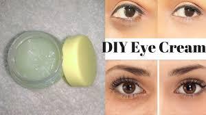 diy under eye cream that you wish you