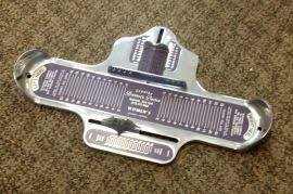 Brannock Device Shoe Sizer - Shoe Store Supplies - General Store Supplies | HM Store Fixture