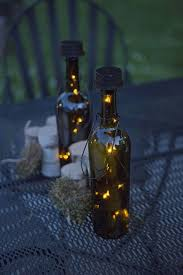 wine bottle lights without drilling