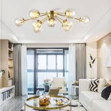simple modern copper living room