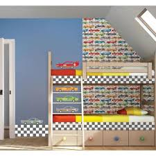 Wall Pops 2 06 In Rally Racers Stripes Wall Border Wps0610 The Home Depot
