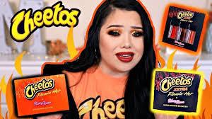 hot cheetos makeup collection