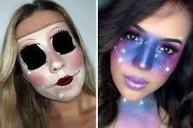 25 halloween makeup looks that are