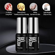gel nail polish starter kit with mini
