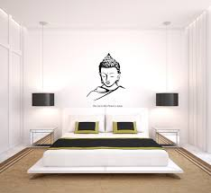 Lord Buddha Wall Decal Peacockride
