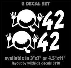 42 Decal Hitchhiker S Guide To The Galaxy Movie Vinyl Sticker Set Of 2 Ebay