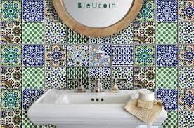 Tile Wall Decal Kitchen Bathroom Moroccan Tile Decal 44pcs Tile Decals Moroccan Tile Morrocan Tile