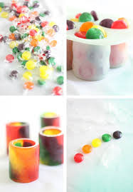how to bake hard candy shot glasses
