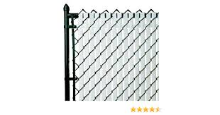 Amazon Com Pvt Top Locking Privacy Vertical Inserts 6 High Brown Outdoor Decorative Fences Garden Outdoor