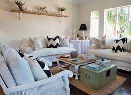 vintage style living room with ter