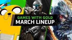 xbox 360 games with gold for march 2019