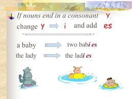 Plurals of nouns. - ppt video online download