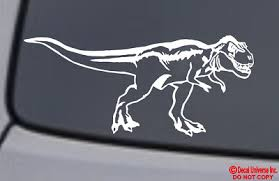 Tyrannosaurus Rex Vinyl Decal Sticker Car Window Wall Bumper Dinosaur T Rex Ebay