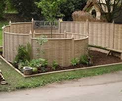 curved oak fence panels quercus uk