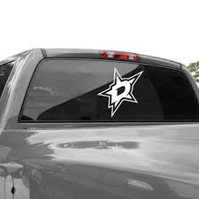 Dallas Stars Car Decals Stars Car Stickers Auto Decals Shop Nhl Com