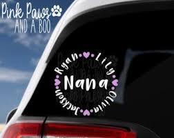 Yeti Sticker Grandma Etsy