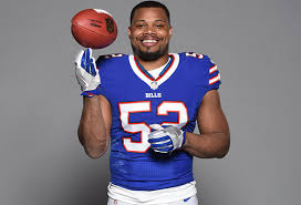 Show some love for the 2017 NFL Tackle Leader, PRESTON BROWN! : buffalobills