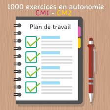 plan de travail activités et exercices