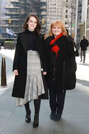 """Sophie McShera and Lesley Nicol in New York, Promoting """"Downton Abbey: The  Exhibition 