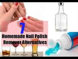 nail polish remover alternatives